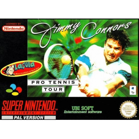 Jimmy Connors Pro Tennis Tour - MODUL