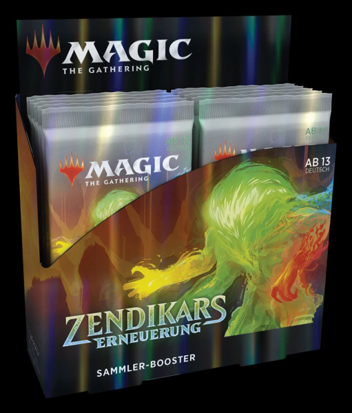 Zendikar Rising Collector Booster Display (12 Packs) - EN
