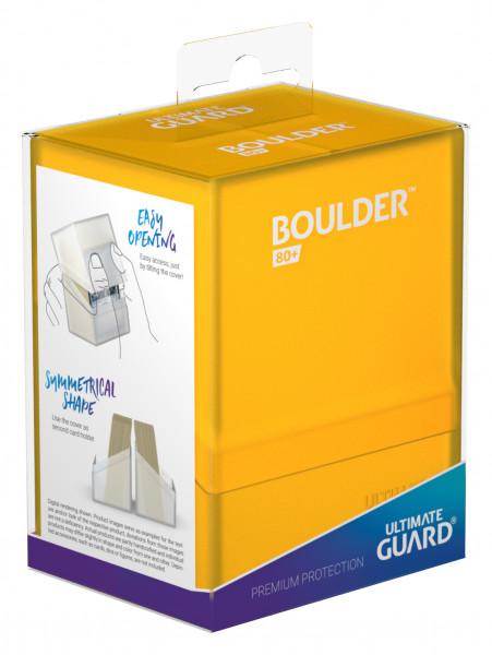 Boulder & Trade Deck Case 80+ Standardgröße Amber
