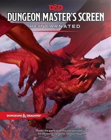 D&D RPG - Dungeon Masters Screen Reincarnated - EN