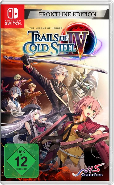 Trails of Cold Steel IV: Legends of Heroes - Frontline Edition (Switch, neu)