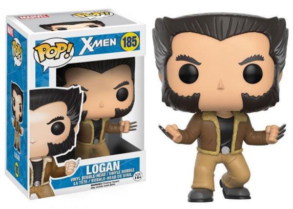 POP! - X-Men: Logan Wackelkopf 9cm