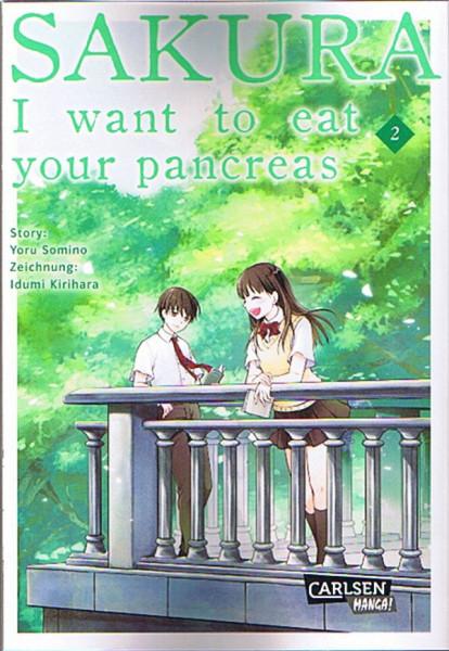 Sakura: I want to eat your pancreas 02