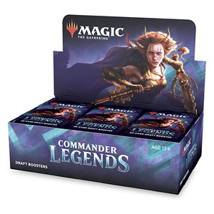 Commander Legends Draft Booster Display (24 Packs) - EN