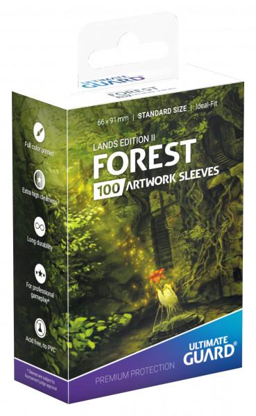 Supreme Sleeves Standard Size Lands Edition Forest 2 (100)