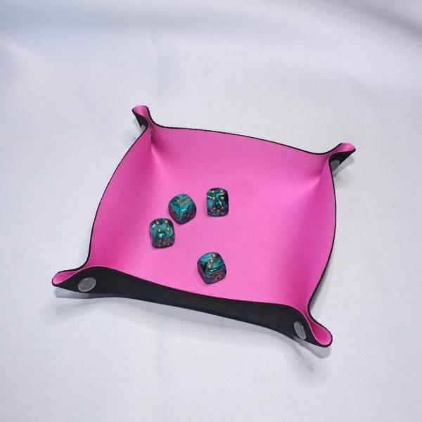 Würfelunterlage 19 x 19cm: Pink
