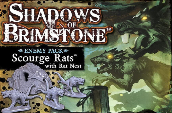 Shadows of Brimstone Scourge Rats Enemy Pack