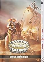 Savage Worlds - Abenteueredition: Charakterbögen-Set