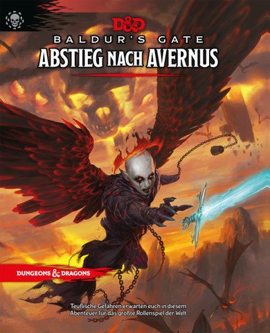 D&D RPG - Baldurs Gate: Abstieg nach Avernus HC