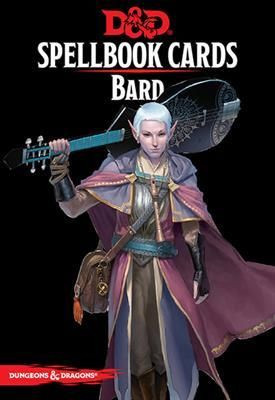 D&D RPG - Spellbook Cards: Bard Deck