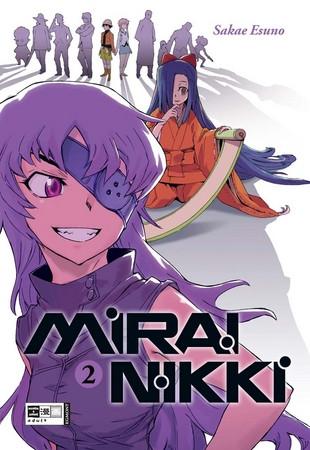 Mirai Nikki 02
