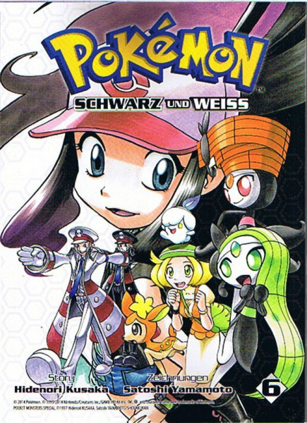 Pokemon – Schwarz und Weiss Band 06