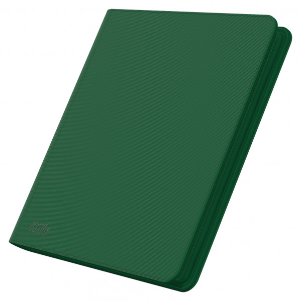 12-Pocket QuadRow ZipFolio XenoSkinTM Green
