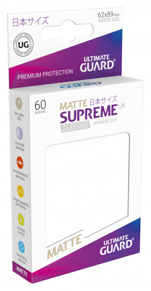 Supreme Sleeves Japan Size Matt UX White (60)