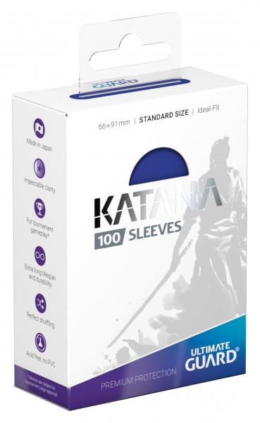 Ultimate Guard Katana Sleeves Standard Blue (100)