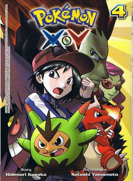Pokemon – X und Y Band 04