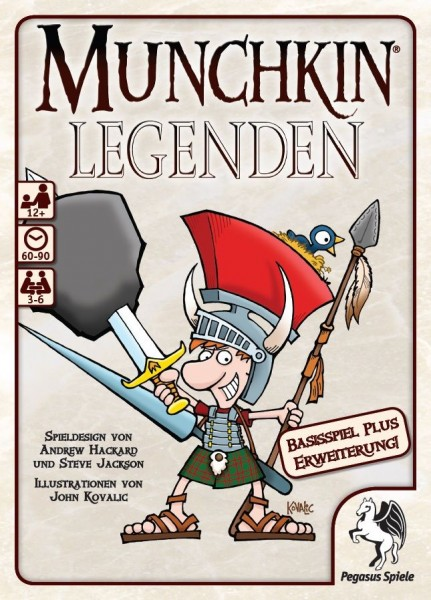 Munchkin: Legenden 1+2
