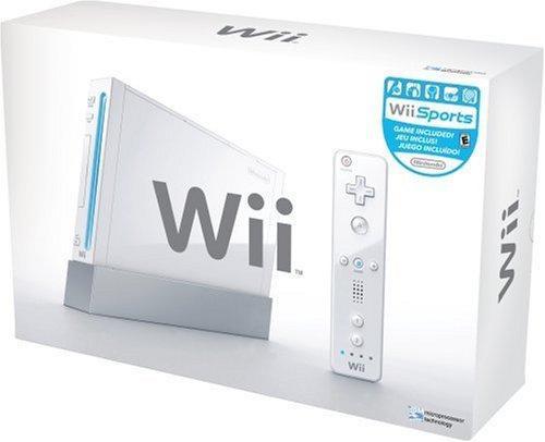 Nintendo Wii Konsole - weiß (Wii, gebraucht) **