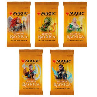 Guilds of Ravnica Booster de.