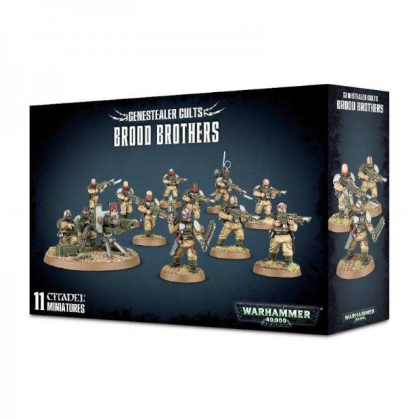 Genestealer Cults Brood Brothers (51-57)