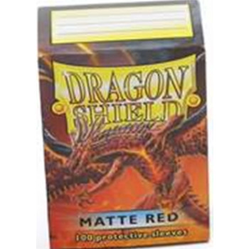 Dragon Shield Card Sleeves - Matte Red (100)