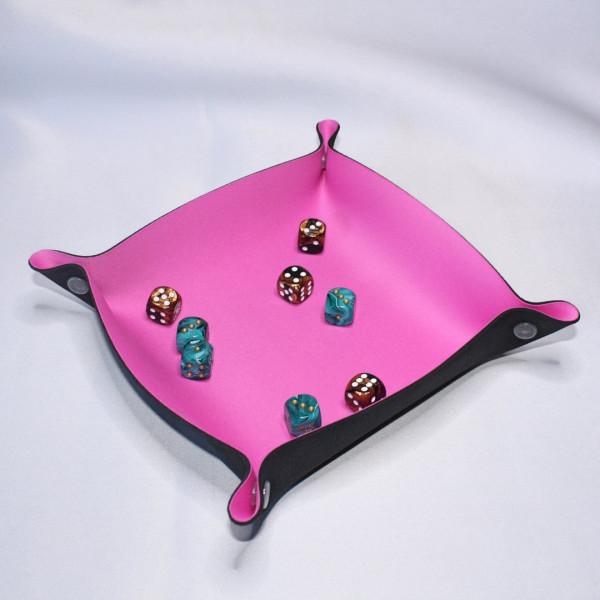 Würfelunterlage 23 x 23cm: Pink