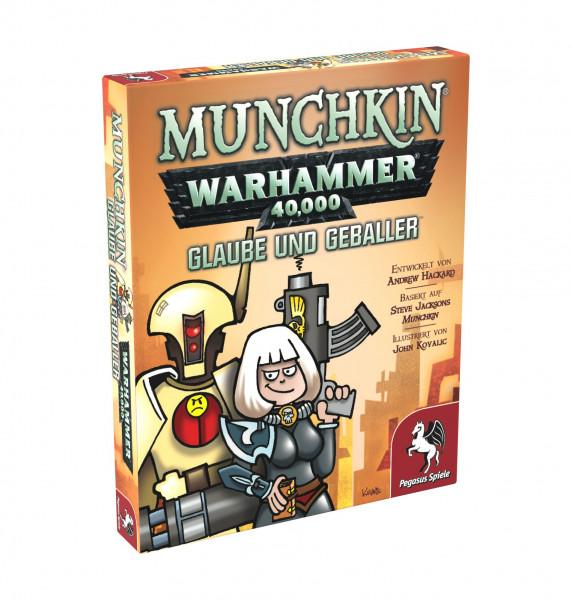 Munchkin: WH 40.000 - Glaube und Geballer