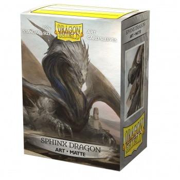 Dragon Shield Art Sleeves Matte - Sphinx Dragon (100)