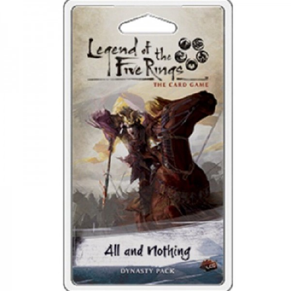 Legend of the 5 Rings LCG - All and Nothing engl.
